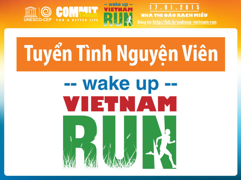 Wake up Vietnam run
